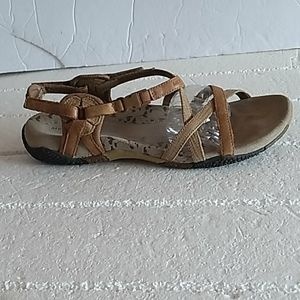Merrell  san remo brown leather sandals